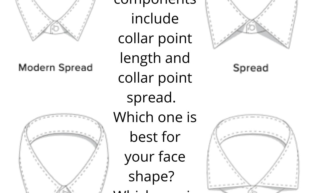 4 Basic Business Shirt Collars and Your Face Shape